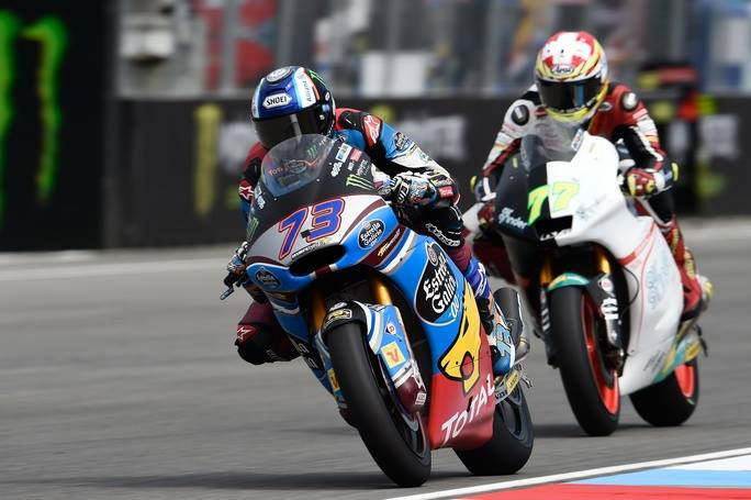 Moto2 Brno, FP3: Marquez chiude al comando, ma gli italiani sono in scia