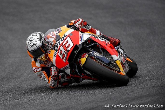 MotoGP Austria, FP4: Marquez si prende l'ultima sessione di libere