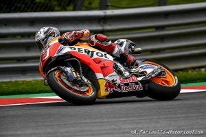 """MotoGP Austria, Qualifiche: Marquez, """"Sono partito al 120% e sto guidando al limite"""""""
