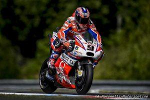 """MotoGP Brno, Gara: Petrucci, """"Il rammarico è di non aver avuto il coraggio di rientrare un giro prima"""""""