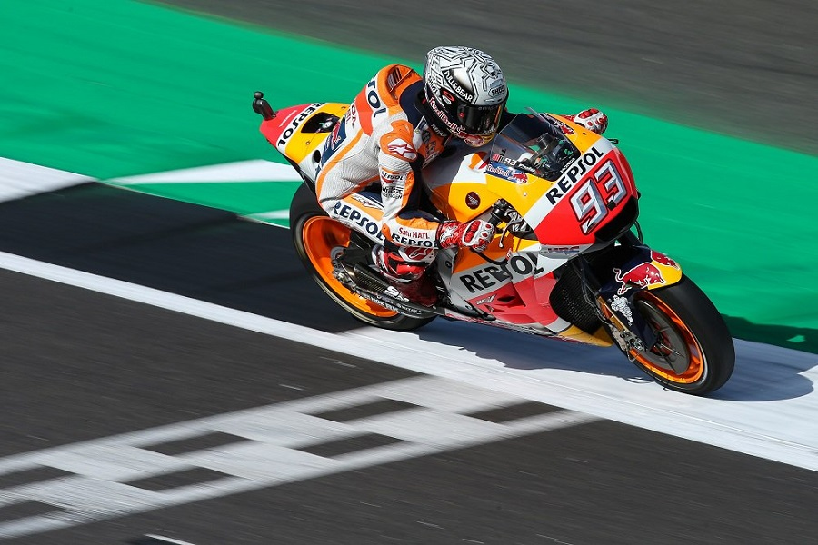 MotoGP, Silverstone. Marquez: