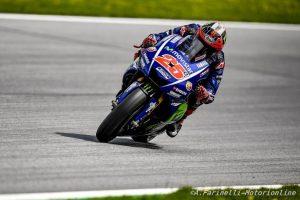 MotoGP Silverstone, FP1: Vinales risorge nelle prime libere, Rossi 5°