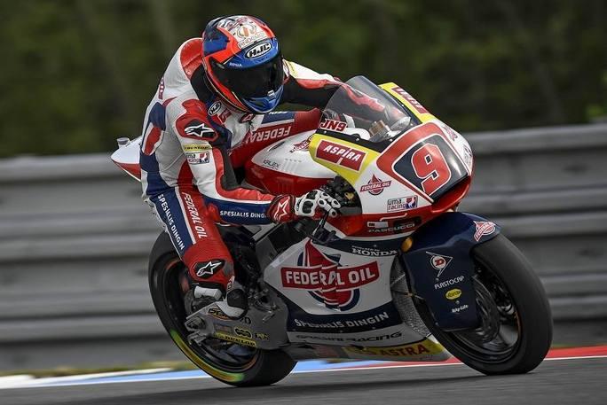 Moto2 Brno, Warm Up: Meteo protagonista, Navarro davanti a Locatelli e Marini
