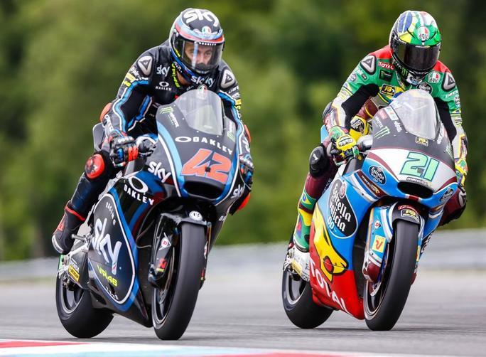 """Moto2 Austria Gara: Bagnaia, """"Nel complesso è stato un buon weekend"""""""