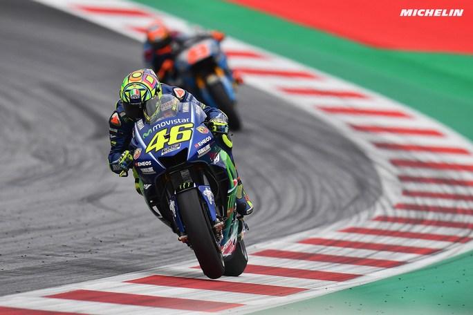"""MotoGP Austria Day 1: Rossi, """"Inizio difficile e le Honda sono molto forti"""""""