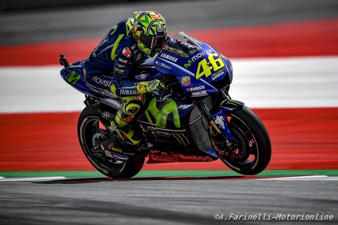 """MotoGP Austria Qualifiche: Rossi, """"Avevo il potenziale per essere in prima fila, ma…."""""""