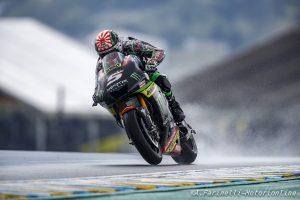 MotoGP Brno, FP1: Meteo protagonista, Zarco davanti a Marquez e Lorenzo, Rossi è quinto