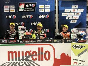 CIV: Alfano bissa la vittoria in PreMoto3 250 davanti a Brianti e Surra