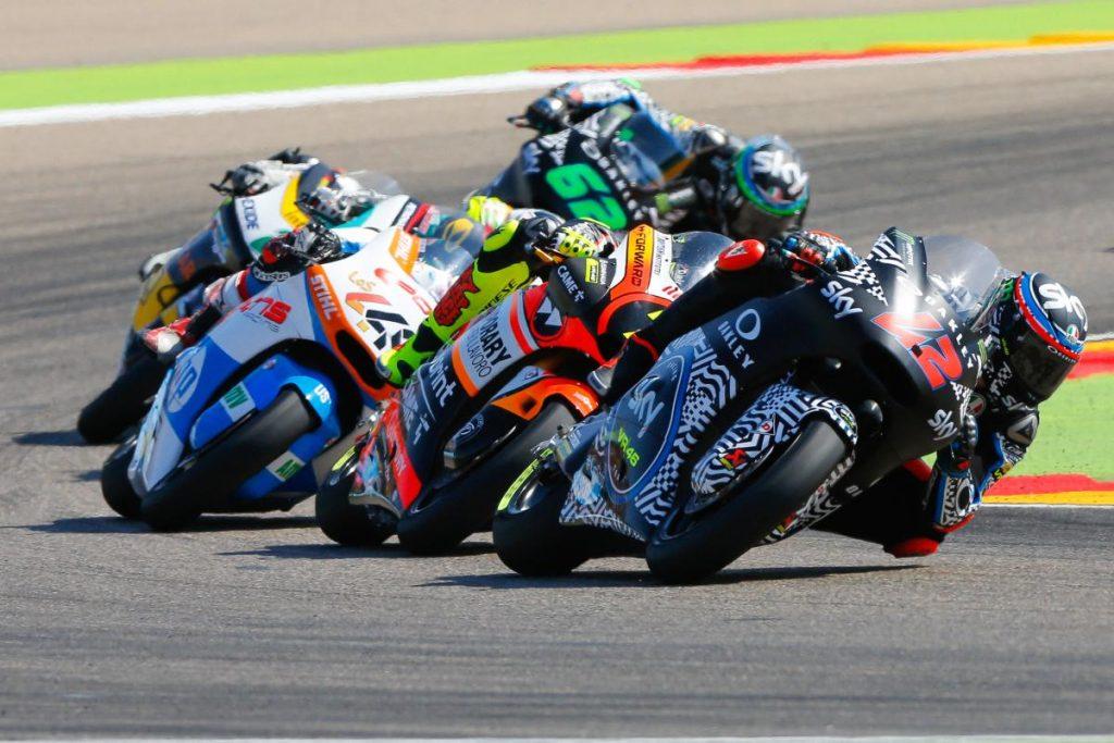 "Moto2 Aragon Gara: Bagnaia, ""Gara più difficile del previsto"""