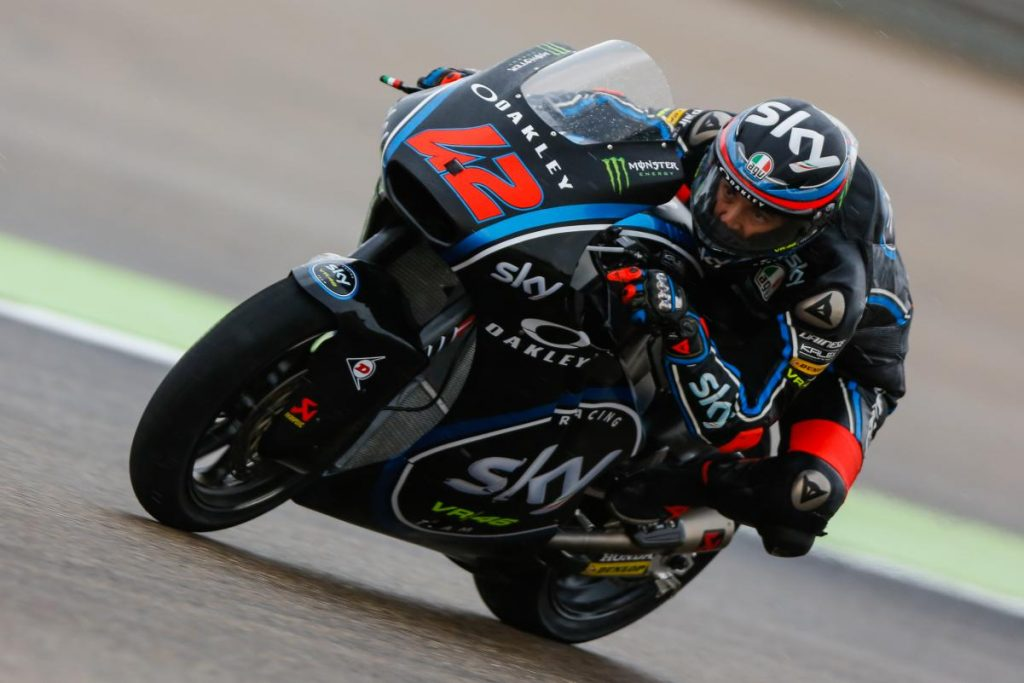 Moto2 Aragon QP: qualifiche difficili per lo Sky Racing Team VR46