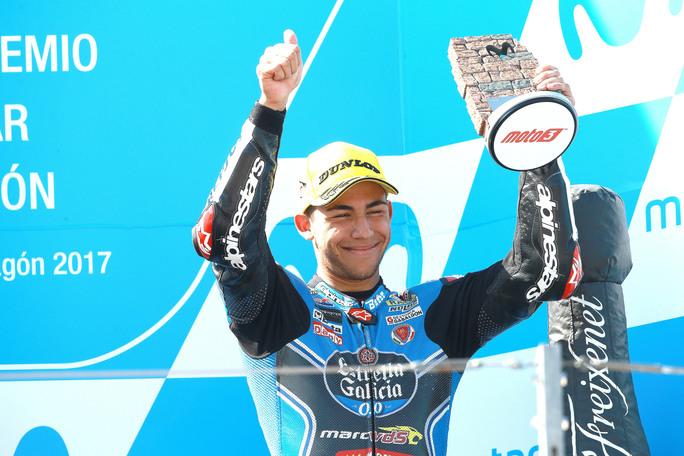 """Moto3 Aragon Gara: Bastianini, """"Peccato l'ultimo giro con Mir"""""""