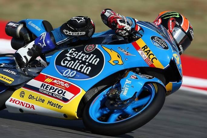 Moto3 Aragon, prime libere: Canet di un soffio su Mir, 3° Antonelli