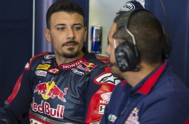 Superbike: Honda non conferma Davide Giugliano