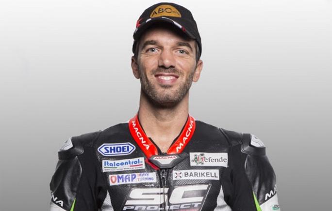 Moto2: Alex de Angelis a Misano al posto di Marcel Schrötter