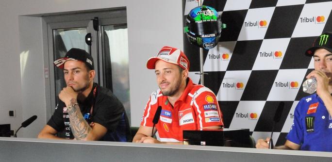 """MotoGP Misano: Dovizioso, """"Ottima qualifica, ci siamo anche noi"""""""