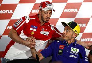 """MotoGP: Andrea Dovizioso, """"Con Rossi abbiamo aspetti molto simili, ma si è dovuto isolare"""""""