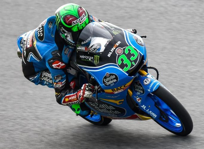 Moto3 Misano Prove 1 Aron Canet precede Fenati e Mir