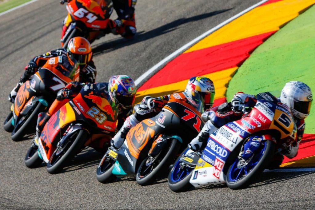 """Moto3 Aragon Gara: Fenati, """"Ho giocato in difesa"""""""