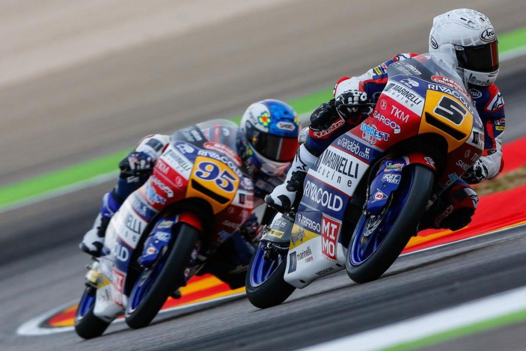 Moto 3: ad Aragon Fenati solo 10°, vince Mir