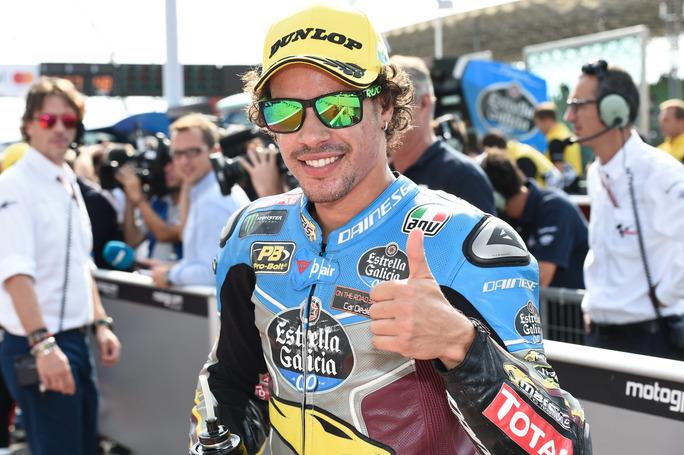 """Moto2 Misano QP: Morbidelli, """"Sono contento anche se non ho fatto la pole"""""""