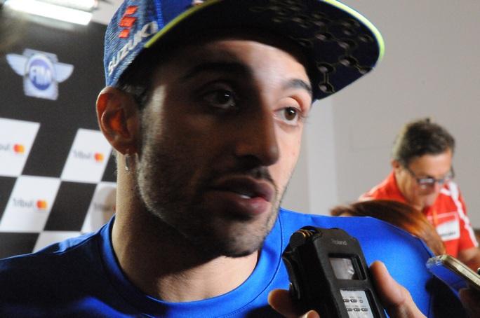 """MotoGP Misano, Press Conference: Iannone, """"E' difficile correre in queste condizioni"""""""