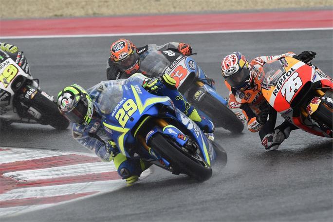 """MotoGP Misano Gara: Iannone, """"Purtroppo ho avuto un problema al braccio"""""""