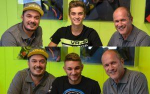 Luca Marini e Dennis Foggia con Sky VR46 nel 2018