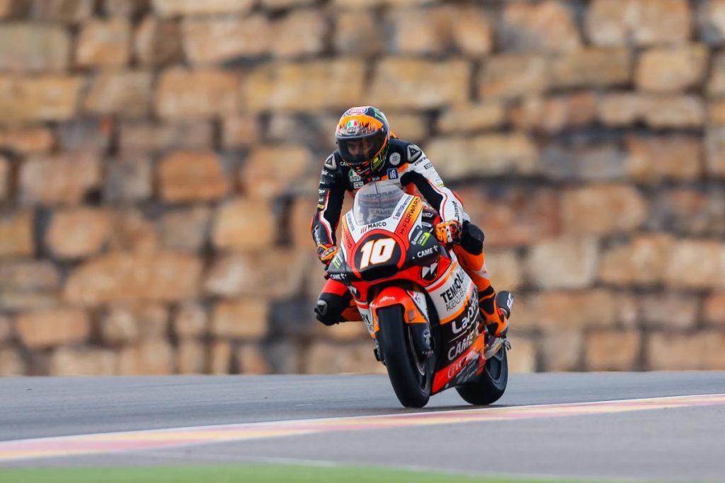"""Moto2 Aragon QP: Marini, """"Avrei voluto stare nella top 10"""""""