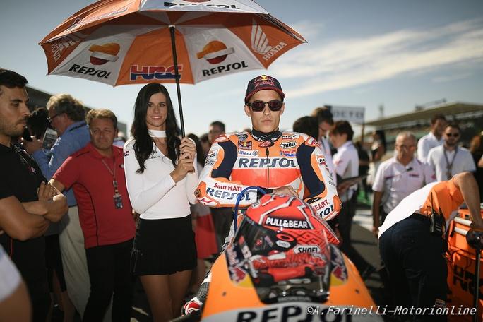 """MotoGP Misano: Marc Marquez, """"Silverstone è alle spalle, ora guardiamo avanti"""""""