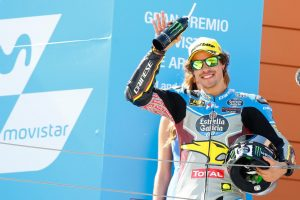 """Moto2 Aragon Gara: Morbidelli, """"Questa vittoria mi dà molta soddisfazione"""""""