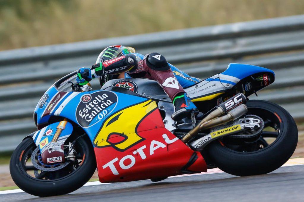 """Moto2 Aragon QP: Morbidelli, """"Abbiamo faticato con il grip"""""""