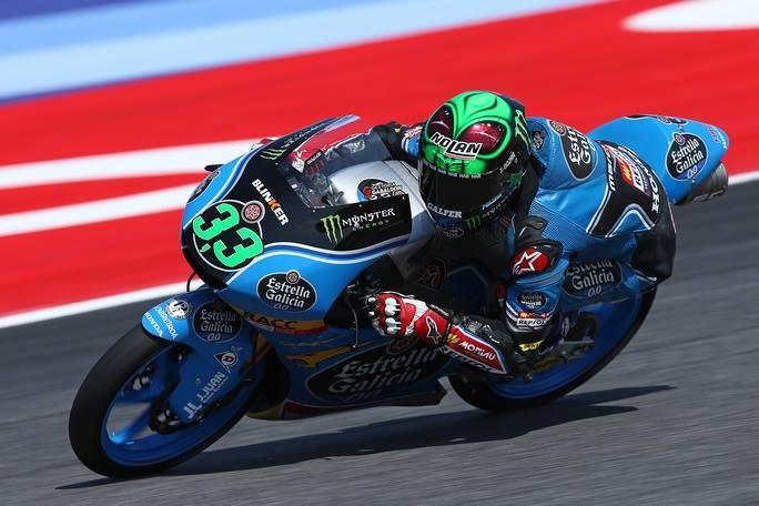 Gp S.Marino, Moto3: Canet precede Bastianini nelle terze libere