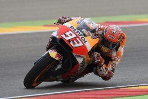 """MotoGP Aragon Day 1 : Marquez, """"Al momento tutto sembra sotto controllo"""""""