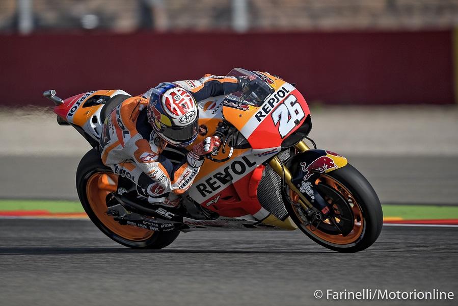 """MotoGP Aragon Gara: Pedrosa, """"Ho fatto una delle mie migliori gare"""""""