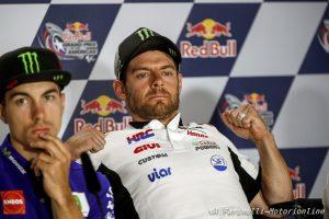 """MotoGP: Crutchlow, """"Il sostituto di Rossi? Non capisco la scelta, non è veloce come Lowes"""""""