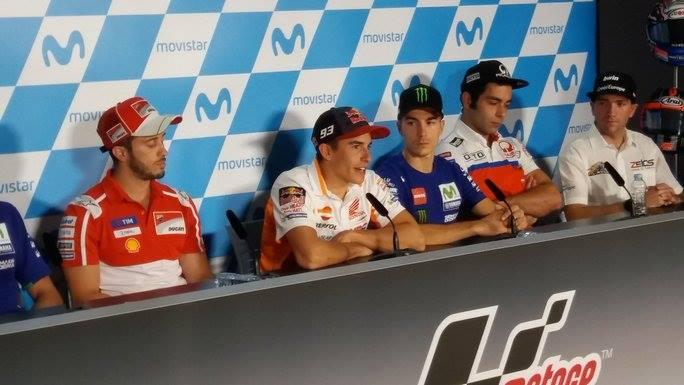 """MotoGP Aragon, Conferenza Stampa: Marquez, """"La battaglia è incandescente"""""""