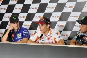 """MotoGP Misano Qualifiche: Marquez, """"Stiamo tutti spingendo al massimo, oltre il limite"""""""