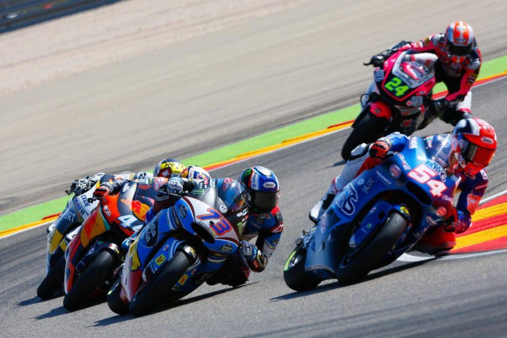 """Moto2 Aragon Gara: Pasini, """"L'obiettivo può diventare la top 3 in campionato"""""""