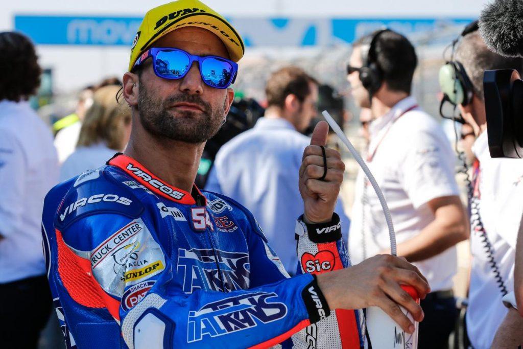 """Moto2 Aragon QP: Pasini, """"L'obiettivo è lottare per il podio"""""""