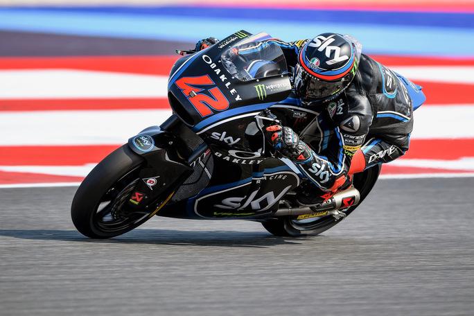 """Moto2 Misano QP: Bagnaia, """"Sono fiducioso per la gara"""""""