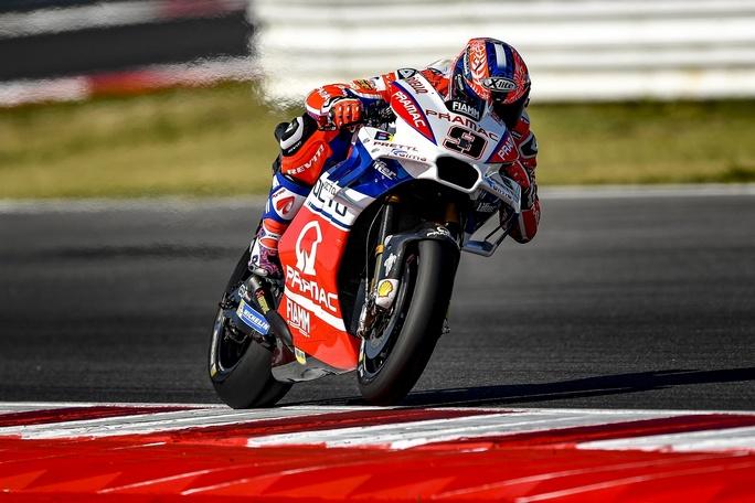 """MotoGP Misano Qualifiche: Petrucci, """"Fiducioso per la gara"""""""