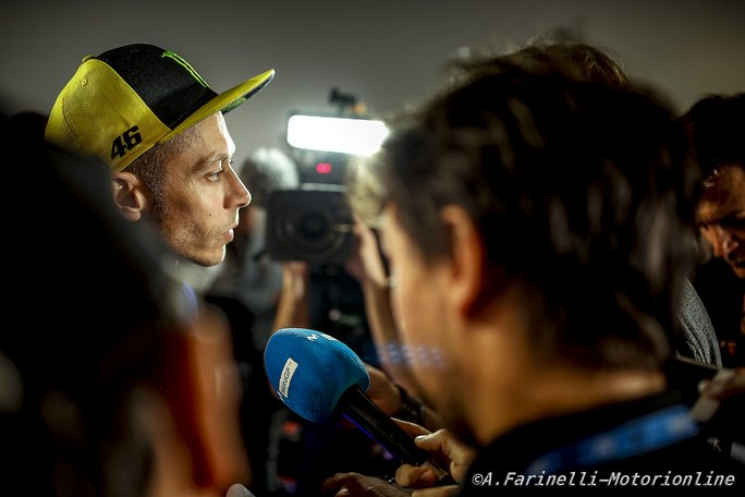 """MotoGP Misano Valentino Rossi """"E' un vero peccato non poter essere al via del mio GP di casa"""""""