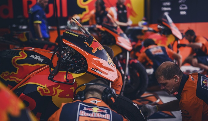 MotoGP Test KTM Aragon: In pista Pol Espargarò, Bradley Smith e Markus Reiterberger