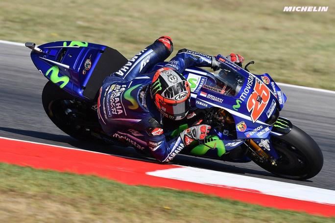 """MotoGP Misano Day 1: Vinales, """"Con il nuovo telaio mi sento bene in moto"""""""