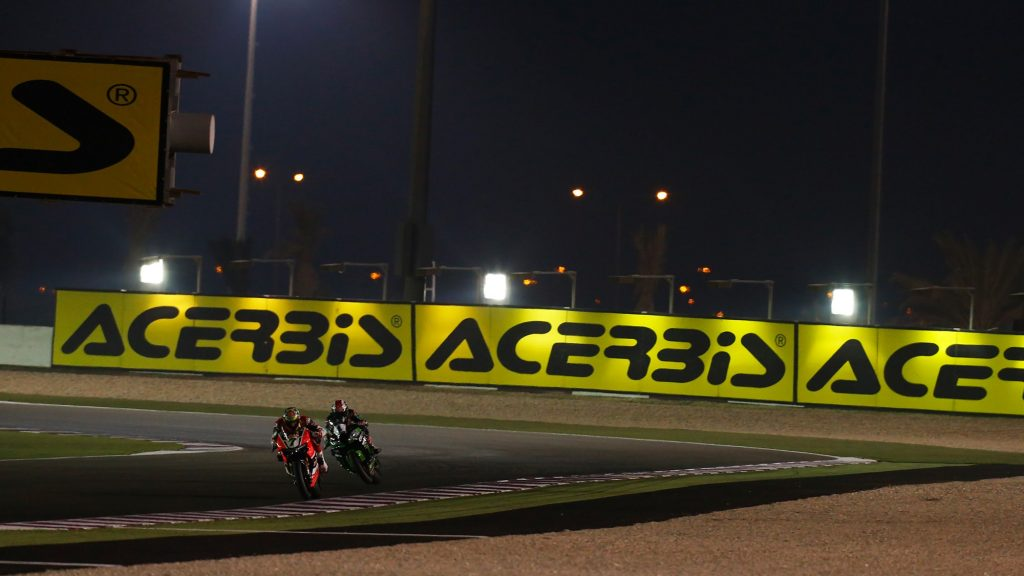 SBK| Acerbis sarà title sponsor del round in Qatar