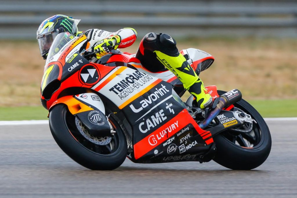 "Moto2 Motegi Preview: Baldassarri, ""Obiettivo top 5"""