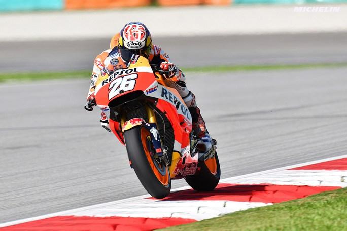 """MotoGP Sepang QP: Pedrosa, """"Contento della pole, mi aspetto una gara serrata"""""""
