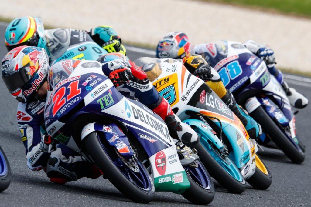 "Moto3 Phillip Island Gara Di Giannantonio ""Errore mio"""