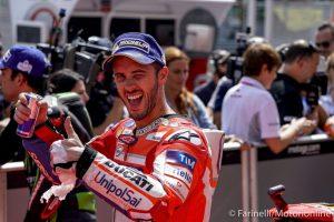 """MotoGP Sepang Gara: Dovizioso, """"E' stata più difficile del previsto. Mappa 8? Non ne so niente"""""""