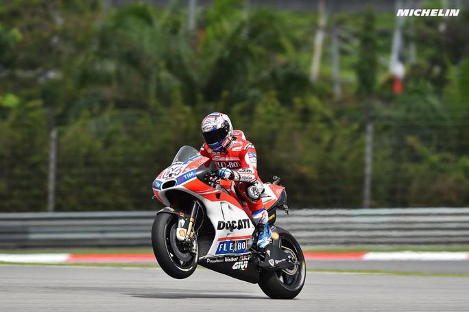 """MotoGP Sepang QP: Dovizioso, """"Sorpreso di essere  così forte sull'asciutto, abbiamo un gran passo"""""""